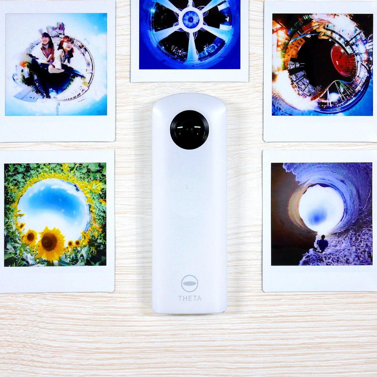 全天球360度カメラなど最新家電をネットで簡単レンタル