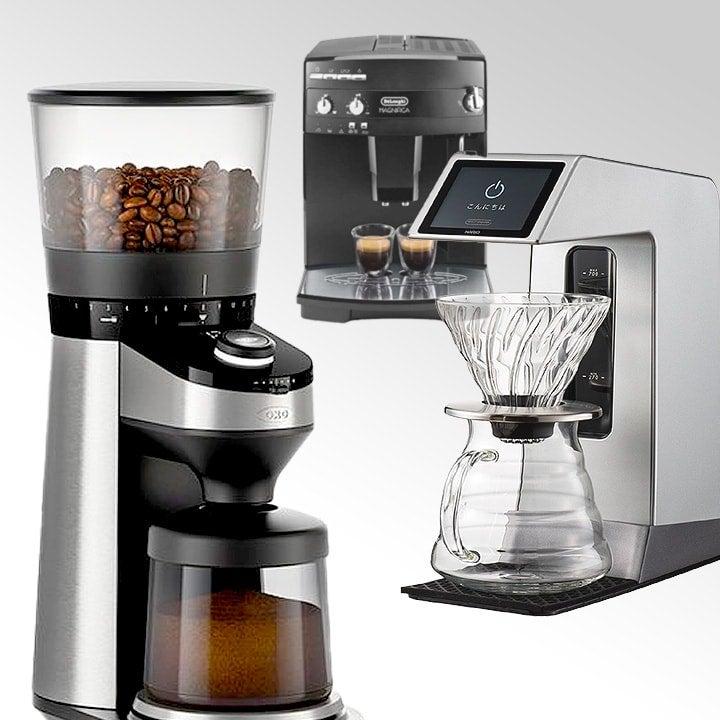 コーヒーメーカーなど最新家電をネットで簡単レンタル