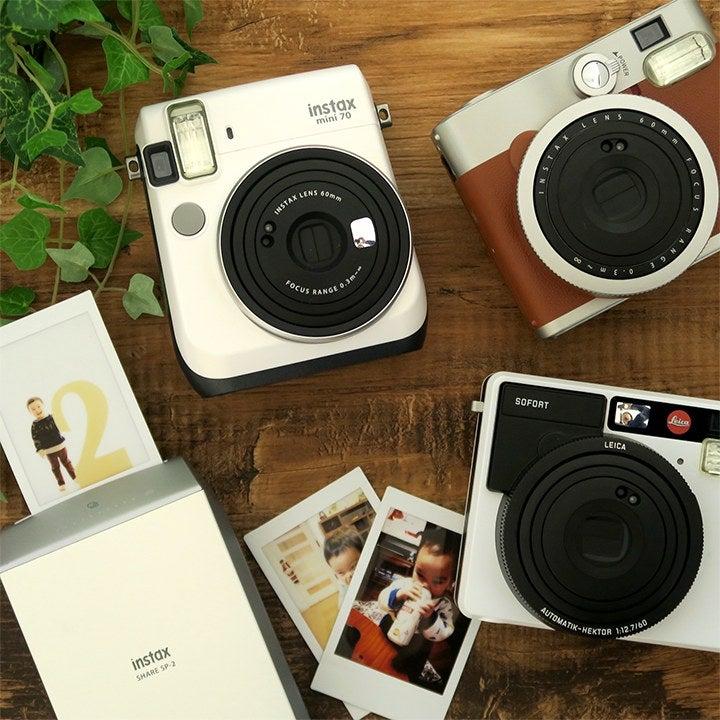 チェキやカメラなど最新家電をネットで簡単レンタル