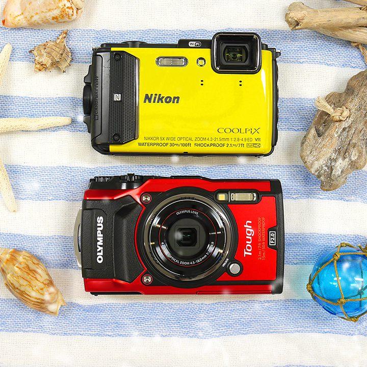 防水カメラなど最新家電をネットで簡単レンタル