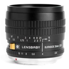 Lensbaby Burnside (バーンサイド) 35mm F2.8  (Nikon Fマウント)