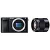 SONY α6000 単焦点レンズ SEL50F18 E 50mm F1.8 OSSセット ミラーレス一眼