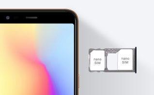 クラウドSIMスマートフォン jetfon P6 ブラック