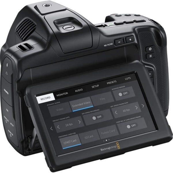 Blackmagic Pocket Cinema Camera 6K Pro EFマウント