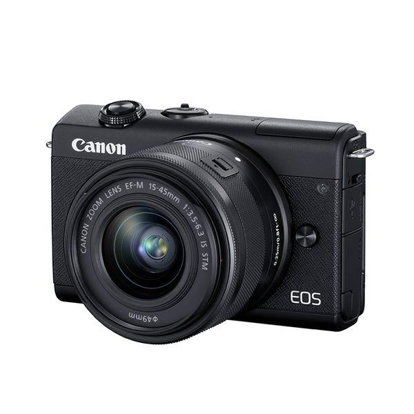 CANON EOS M200 レンズキット ブラック ミラーレス一眼