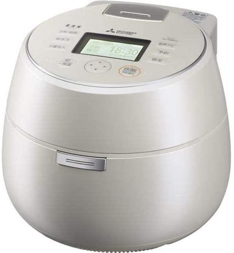 三菱 本炭釜 KAMADO NJ-AWA10 炊飯器 ホワイト