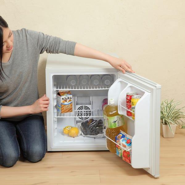 Sun Ruck (サンルック) 冷庫さん 冷蔵庫 SR-R4802 小型 48L ワンドア ペルチェ方式 1ドア 右開き ブラック