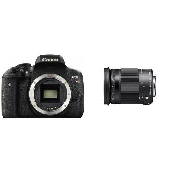 CANON EOS Kiss X8iとシグマの便利ズームレンズ(18-300mm)のセット 一眼レフ
