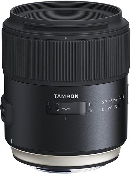 TAMRON SP 45mm F/1.8 Di VC USD 単焦点レンズ (NIKON Fマウント)