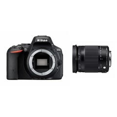 NIKON D5500とシグマの便利ズームレンズ(18-300mm)のセット 一眼レフ
