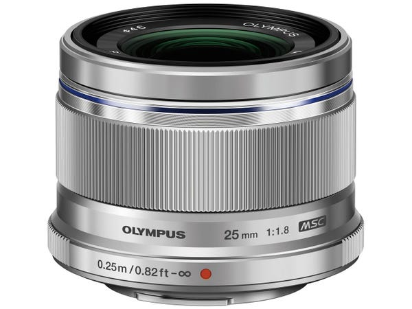 OLYMPUS M.ZUIKO DIGITAL 25mm F1.8 SLV 単焦点レンズ シルバー