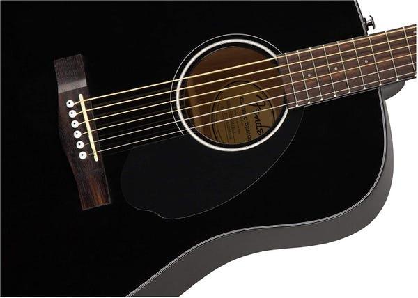 [新品] FENDER CD-60S アコースティックギター 初心者セット(ハードケース+チューナー+ピック+予備弦付き)
