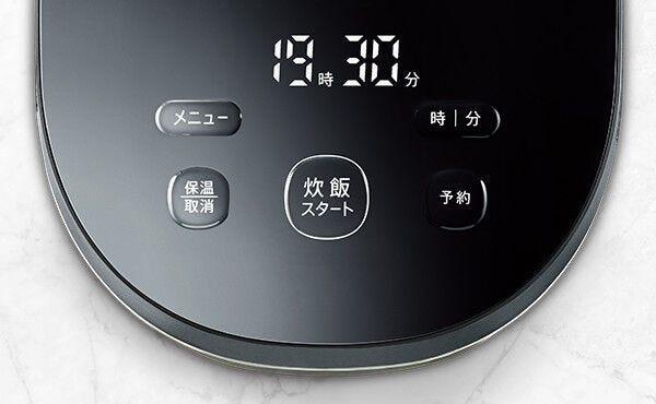 SHARP IHジャー炊飯器 PLAINLYシリーズ KS-HF10B (1~5.5合炊き)