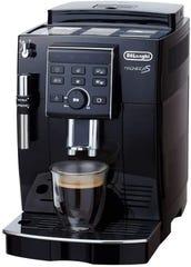 デロンギ マグニフィカS コンパクト全自動コーヒーマシン ECAM23120BN エントリーモデル/ミルク泡立てフロッサー付