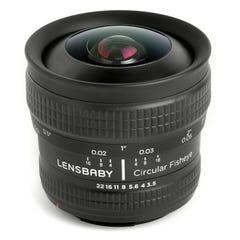 Lensbaby サーキュラー フィッシュアイ (Nikon Fマウント)