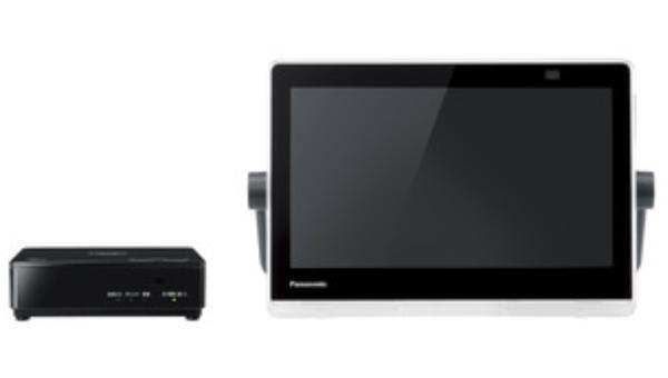 Panasonic ポータブルデジタルテレビ プライベート・ビエラ 10V型 UN-10N10 防水モデル 地上・BS・110度CS