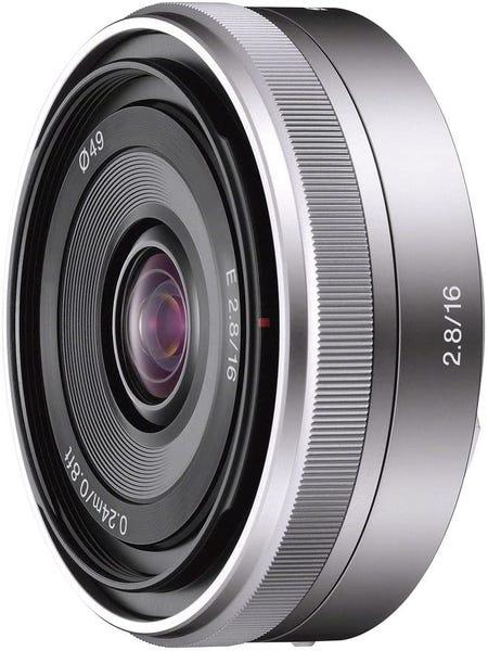 SONY E 16mm F2.8 SEL16F28 単焦点レンズ