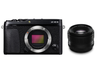 FUJIFILM X-E3 XF35mmF1.4 R 単焦点レンズセット ミラーレス一眼 [レンティオおすすめセット]
