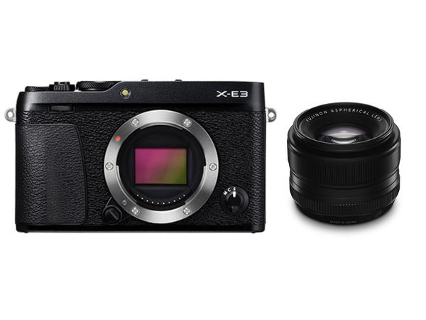 FUJIFILM X-E3 XF35mmF1.4 R 単焦点レンズセット ミラーレス一眼 [Rentioおすすめセット]