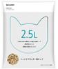 [販売] ペットケアモニター用チップ(2.5L入)HN-PC501(猫用システムトイレ用チップ)