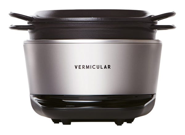 バーミキュラ ライスポット ソリッドシルバー RP23A-SV 5合炊き 炊飯器