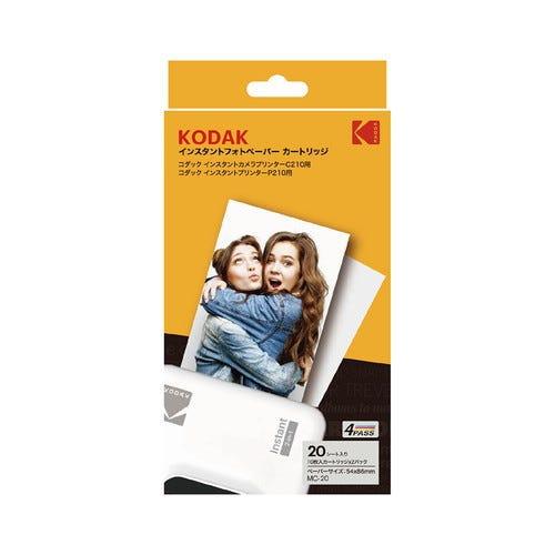 [販売] KODAK P210/C210専用 MC-20 インスタントフォトペーパー カートリッジ  20枚入