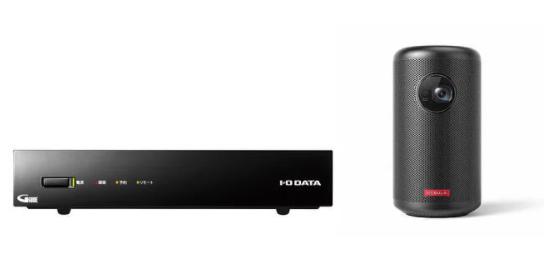 Anker × I-O DATA 「GV-NTX1A」+「Nebula Capsule II 」 プロジェクターテレビチューナーセット