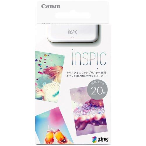 [販売] CANON ミニフォトプリンターiNSPiC専用 ZINKフォトペーパー 20枚入り ZP-2030-20