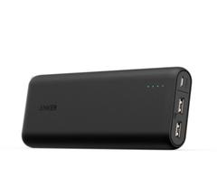 Anker PowerCore 20100 (20100mAh 2ポート 超大容量 モバイルバッテリー) ブラック