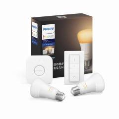 [新品]Philips Hue ホワイトグラデーション スターターセットBluetooth+Zigbee スマート電球