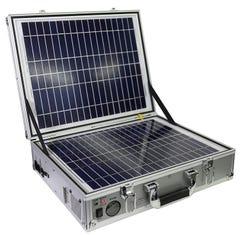 ポータブルソーラー蓄電池 発電バリバリくん (ポータブル電源・ポータブルバッテリー)