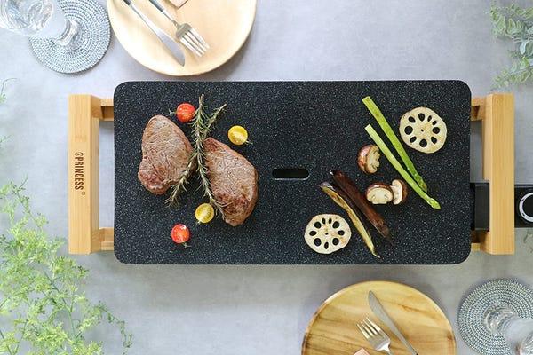 PRINCESS ホットプレート Table Grill Stone ブラック
