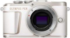 OLYMPUS PEN E-PL10 ボディ ホワイト ミラーレス一眼