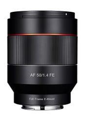 SAMYANG AF 50mm F1.4 単焦点レンズ (SONY Eマウント)