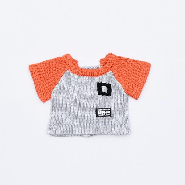 【ロボホン専用】 ニットTシャツ(オレンジ)