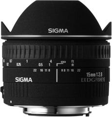 SIGMA 15mm F2.8 EX DG DIAGONAL FISHEYE 魚眼レンズ (CANONマウント) 476274