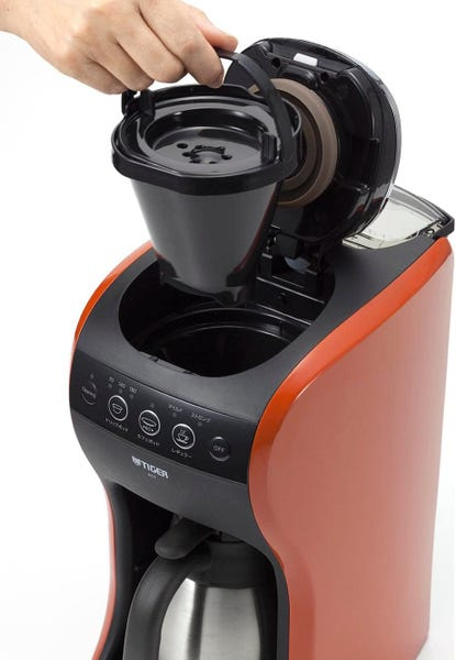 タイガー コーヒーメーカー 4杯用 真空 ステンレス サーバー バーミリオン カフェバリエ ACT-B040-TS