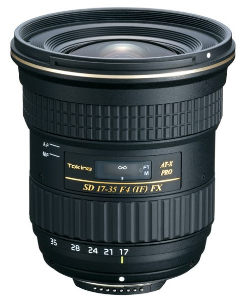Tokina AT-X 17-35 F4 PRO FX 広角ズームレンズ (Nikon Fマウント)
