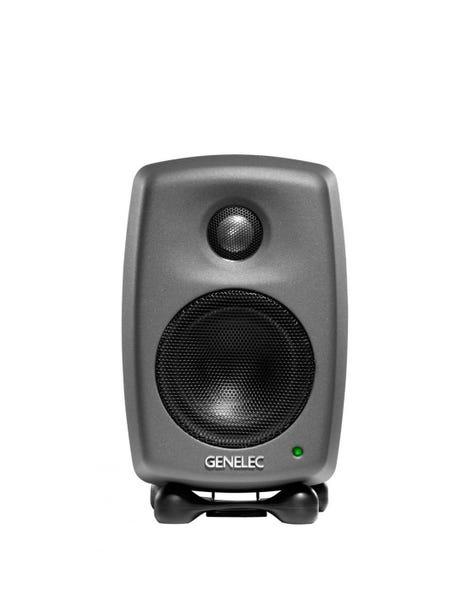 GENELEC 8010AP スタジオ・モニター 2個セット ダーク・グレー