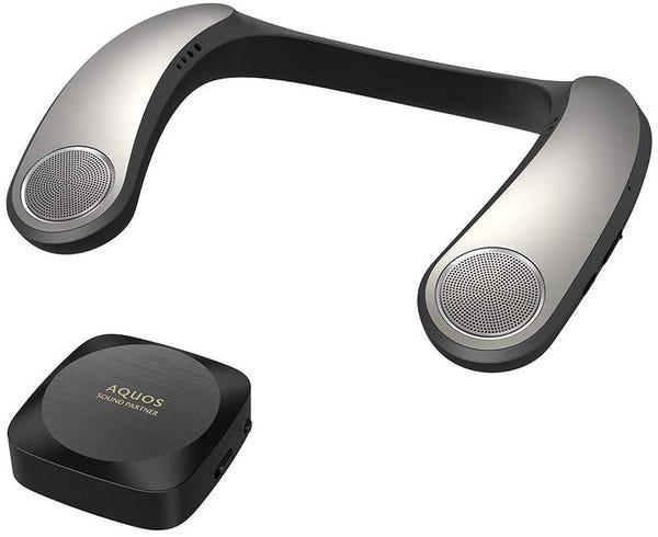 SHARP AQUOS ネックスピーカー サウンドパートナー AN-SX7A