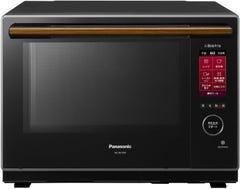 Panasonic ビストロ スチームオーブンレンジ 2段調理 30L ブラック NE-BS1600-K