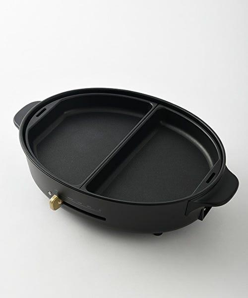 BRUNO オーバルホットプレート用ハーフプレート