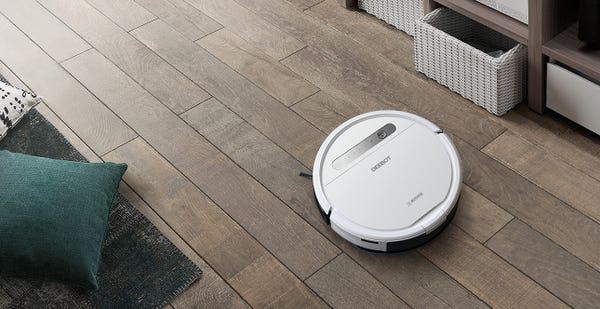 ECOVACS DEEBOT OZMO 610 水拭きもできる家庭用ロボット掃除機