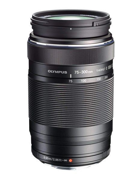 OLYMPUS M.ZUIKO DIGITAL ED 75-300mm F4.8-6.7 II 望遠ズームレンズ