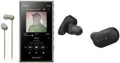ソニー ウォークマン 16GB Aシリーズ ブラック NW-A105HNB イヤホン付属+ノイズキャンセリングイヤホン