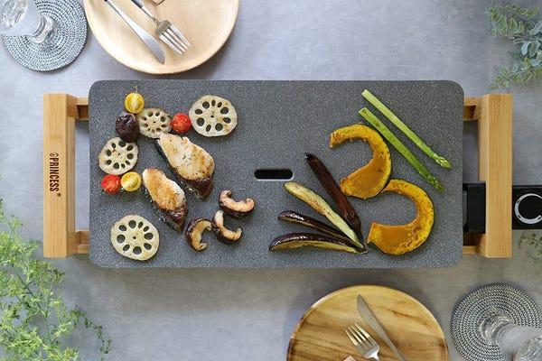 PRINCESS ホットプレート Table Grill Stone グレー