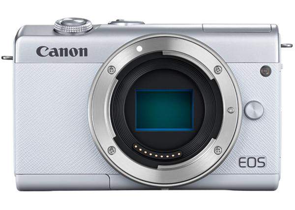 CANON EOS M200 ボディ ホワイト ミラーレス一眼