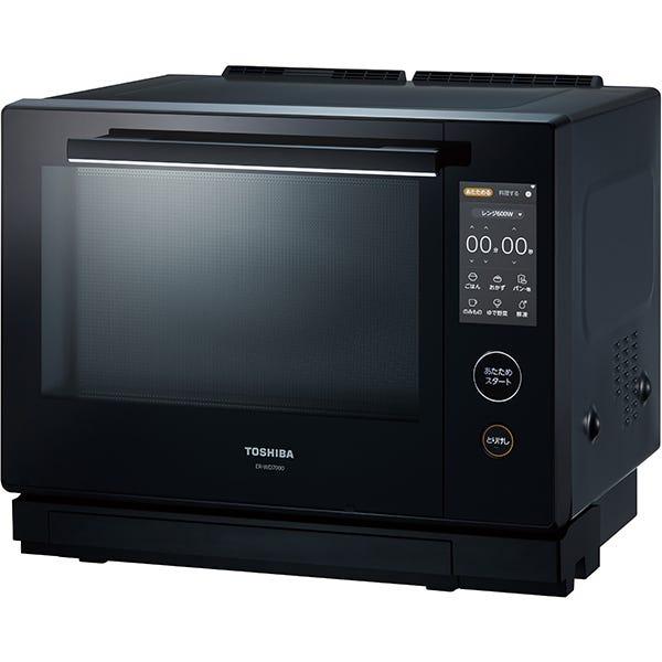 [新品] 東芝 TOSHIBA  過熱水蒸気オーブンレンジ 石窯ドーム 30L ER-WD7000-K ブラック