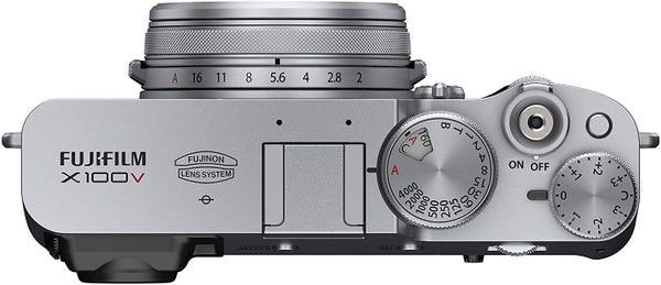 FUJIFILM X100V シルバー コンパクトデジカメ