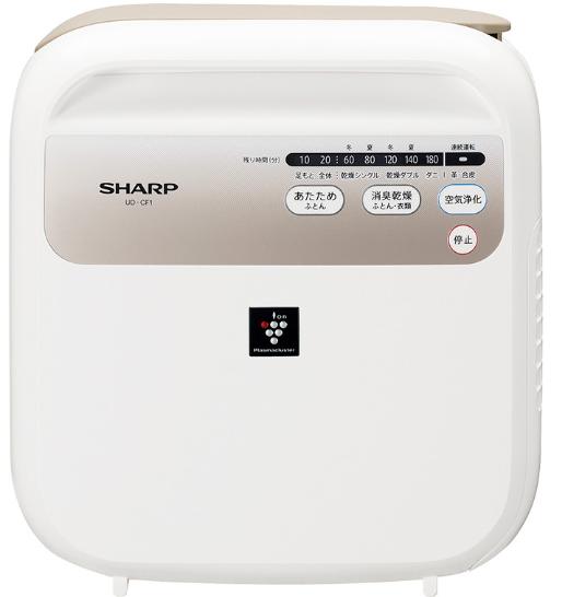 シャープ 布団乾燥機 SHARP プラズマクラスター 7000 UD-CF1-W